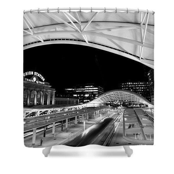 Denver Union Station 1 Shower Curtain