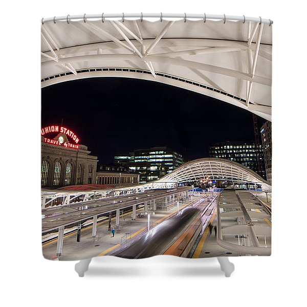 Denver Union Station 3 Shower Curtain