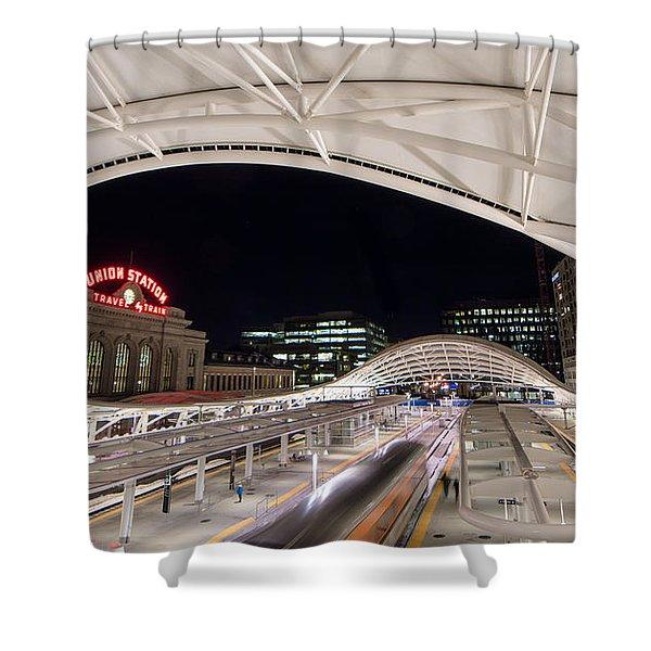 Denver Union Station 3 Shower Curtain