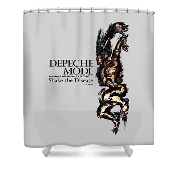 Shake The Disease Shower Curtain