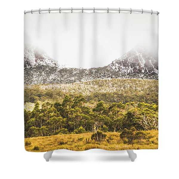 Depths And Ranges  Shower Curtain