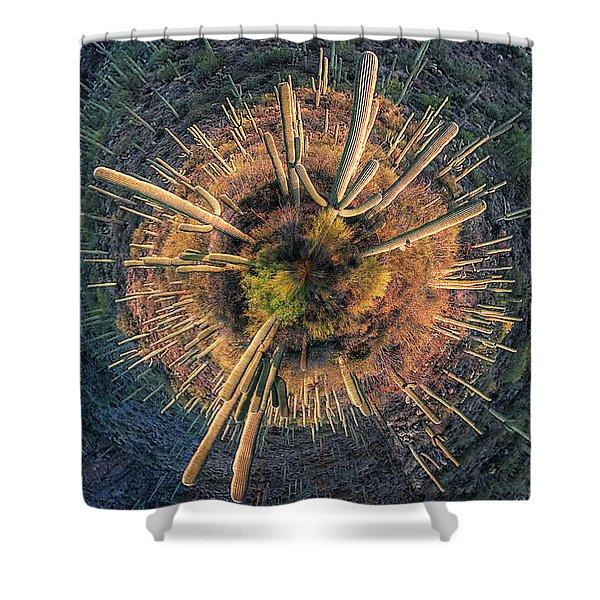 Desert Big Bang Shower Curtain