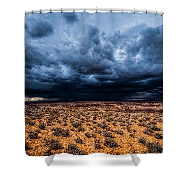 Desert Clouds Shower Curtain