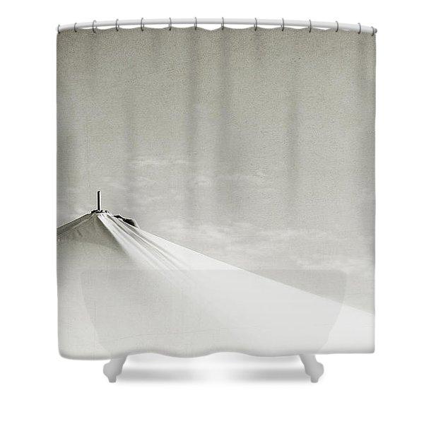 Desert Peak Shower Curtain