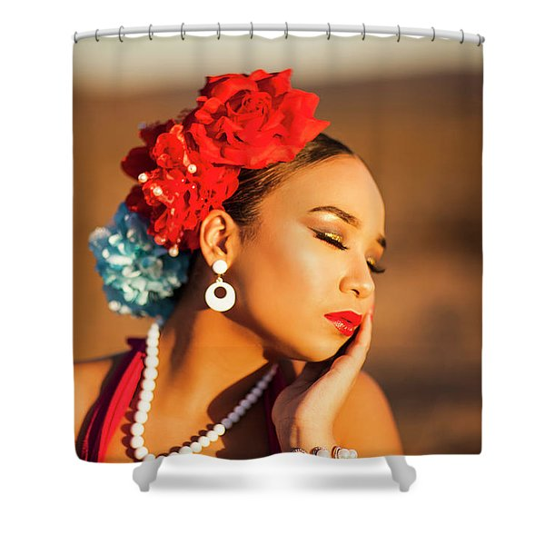 Desert Pearl Shower Curtain