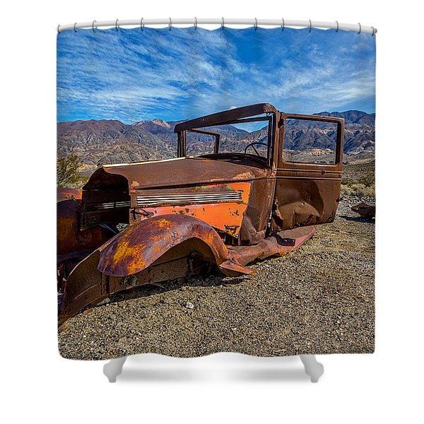 Desert Relic Shower Curtain