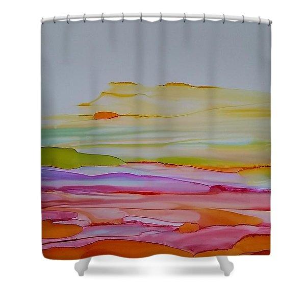 Desert Steppe Shower Curtain