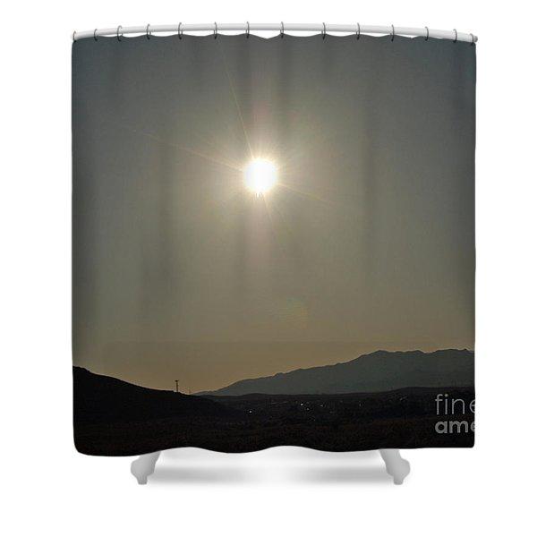 Desert Sun Shower Curtain