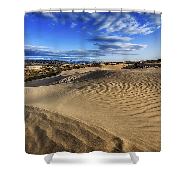 Desert Texture Shower Curtain