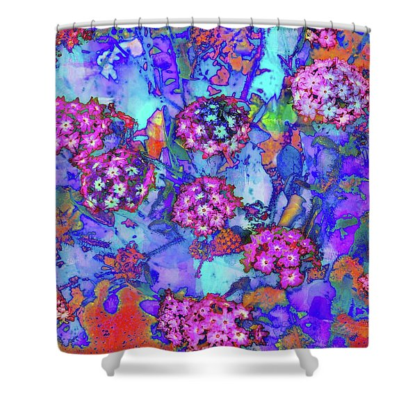 Desert Vibe Bloom Shower Curtain