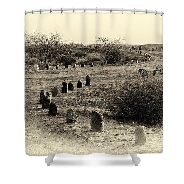 Desert Ways Shower Curtain