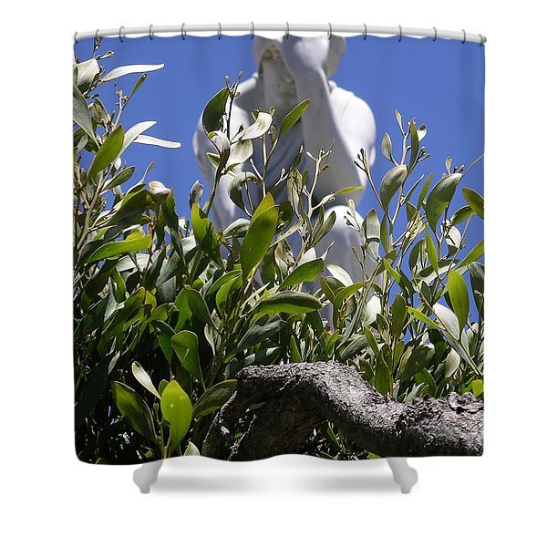 Shower Curtain featuring the photograph Despair by Cynthia Marcopulos