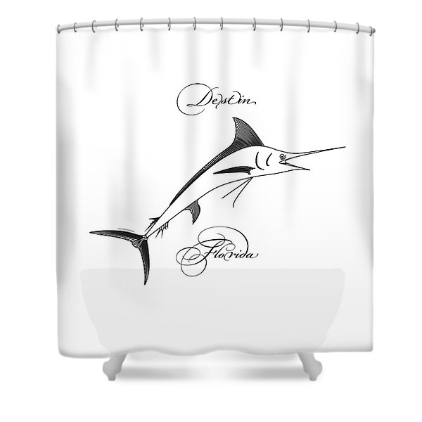 Destin Florida Shower Curtain