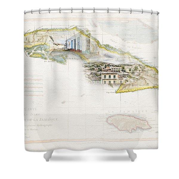Destination Trinidad Shower Curtain