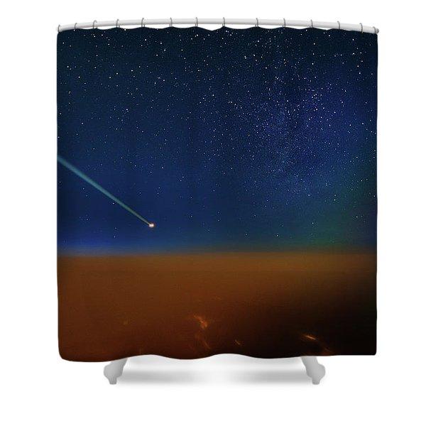 Destination Universe Shower Curtain