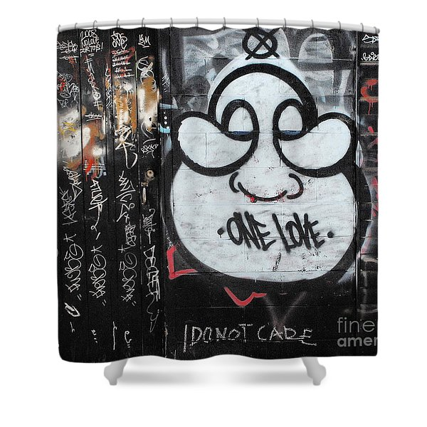 Detachment From Outcome Shower Curtain