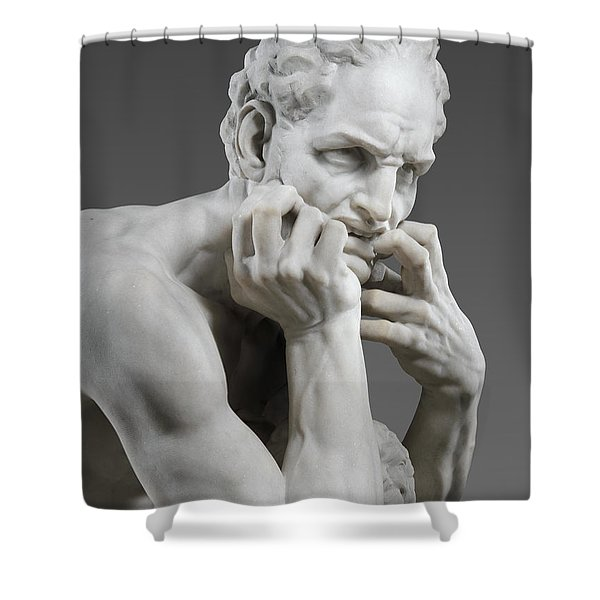 Detail Of Ugolino And His Sons Shower Curtain