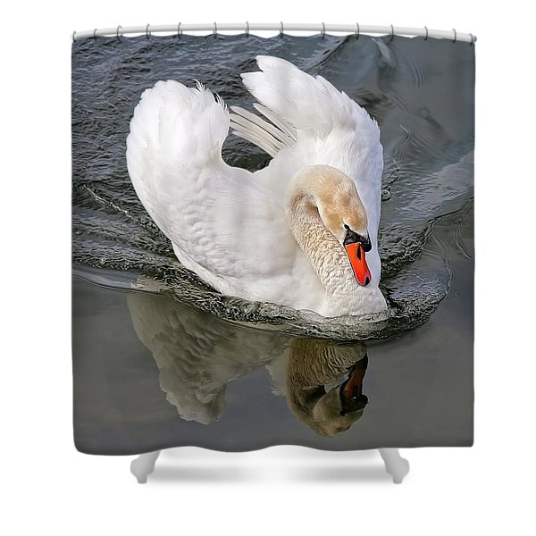 Determination Shower Curtain
