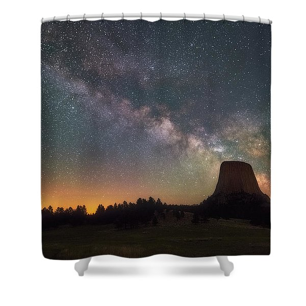 Devils Night Watch Shower Curtain