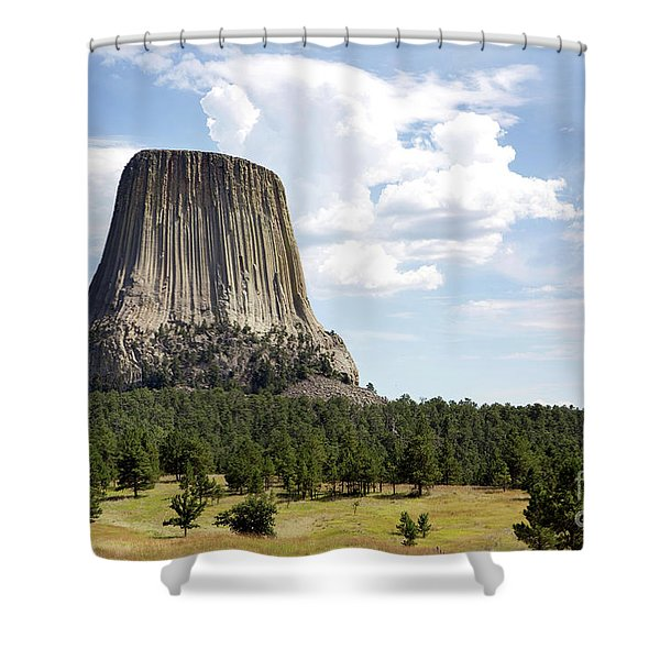 Devils Tower National Monument Shower Curtain