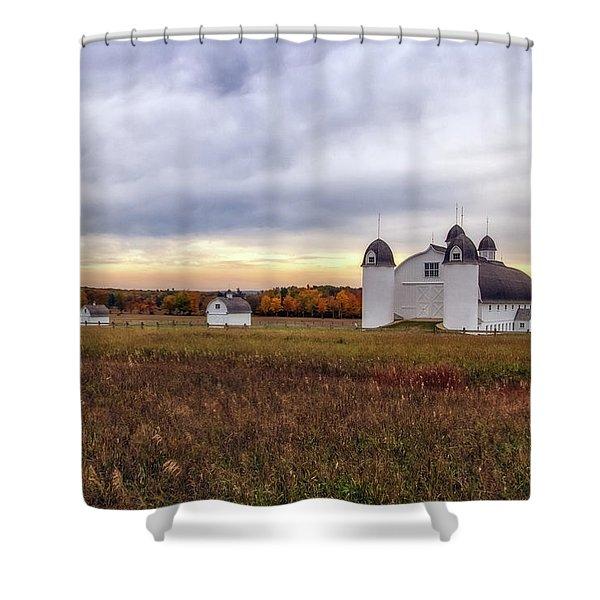 Dh Day Farm 3 Shower Curtain