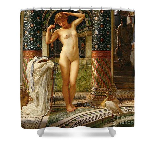 Diadumene Shower Curtain