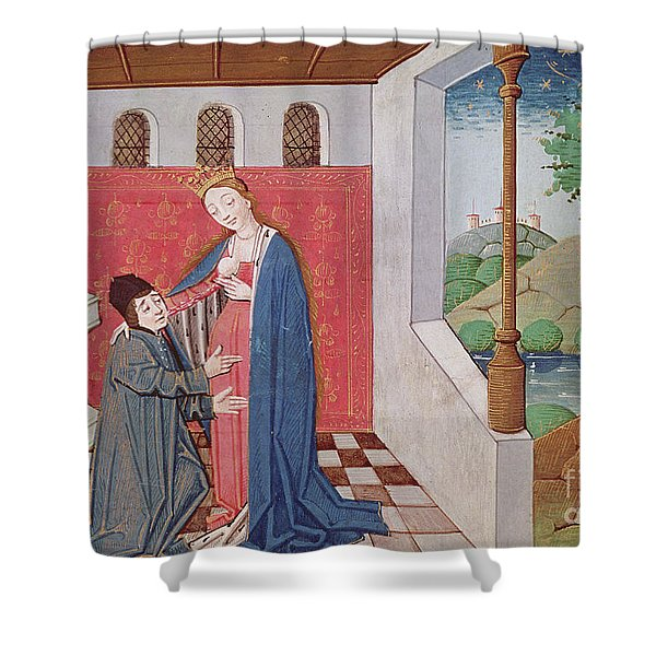 Dialogue Between Boethius And Philosophy Shower Curtain