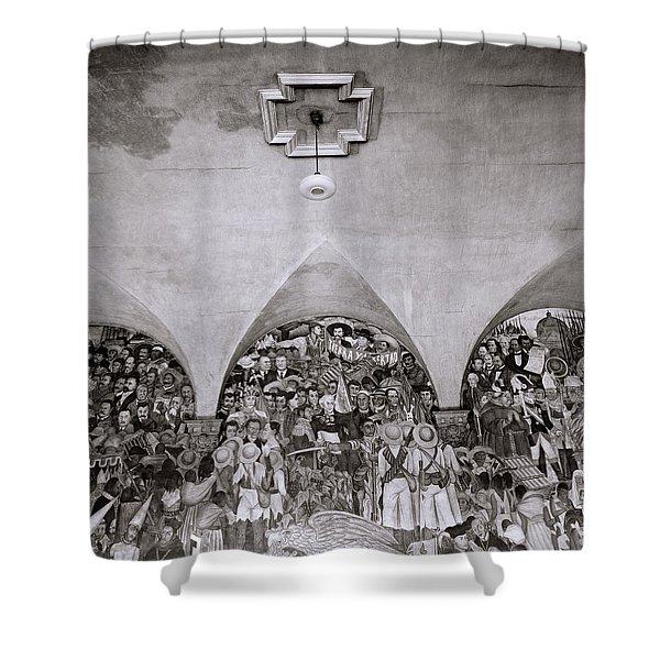 Diego Rivera Shower Curtain
