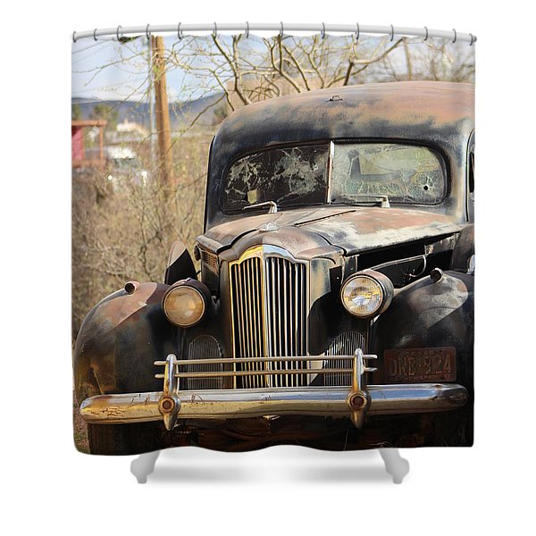 Digger O Balls Funeral Pallor Hearse Shower Curtain