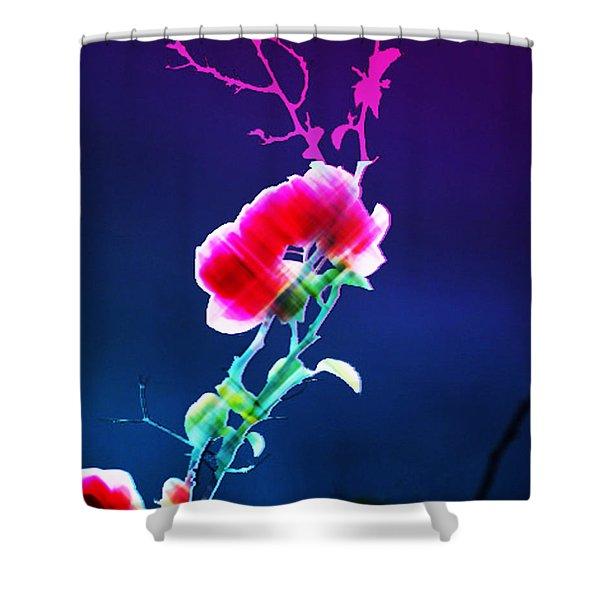Digital 1 Shower Curtain