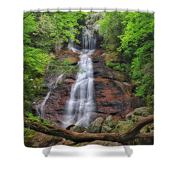 Dill Falls Shower Curtain