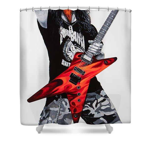 Dimebag Forever Shower Curtain
