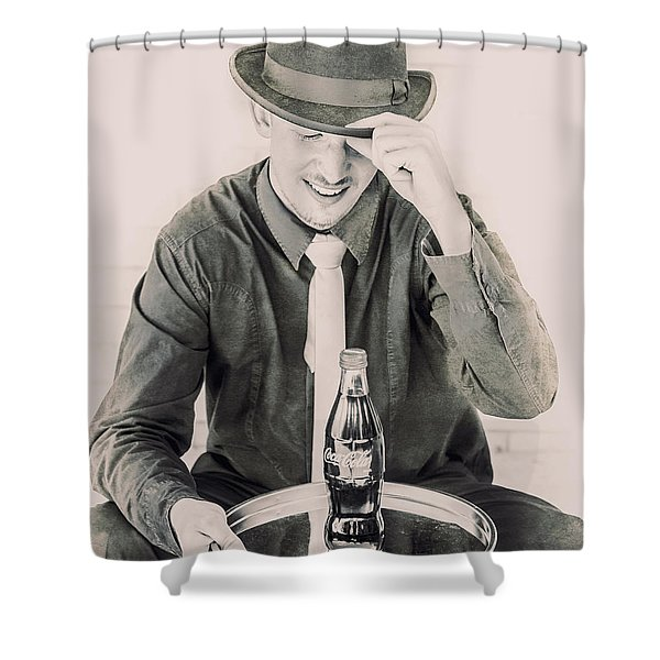 Diner Tips Shower Curtain