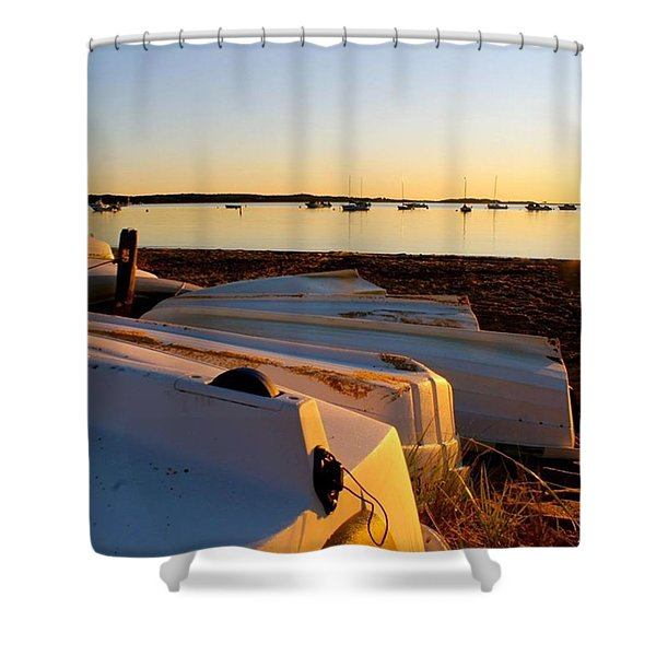 Dinghies Shower Curtain