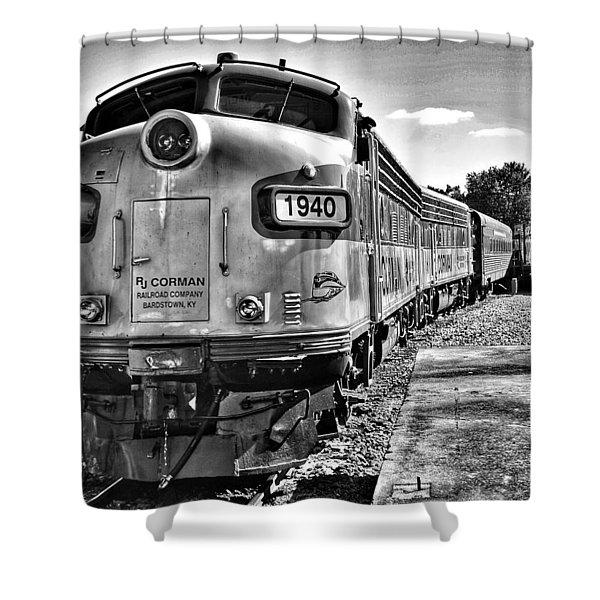 Dinner Train Shower Curtain