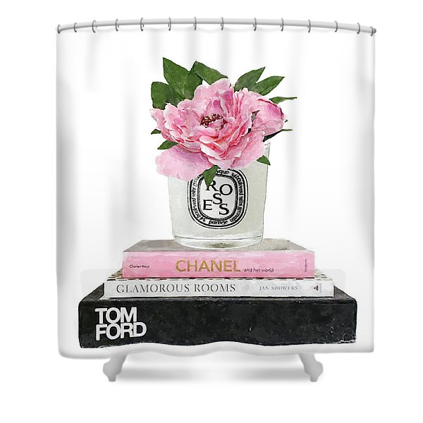 Diptyque Candle 1 Shower Curtain