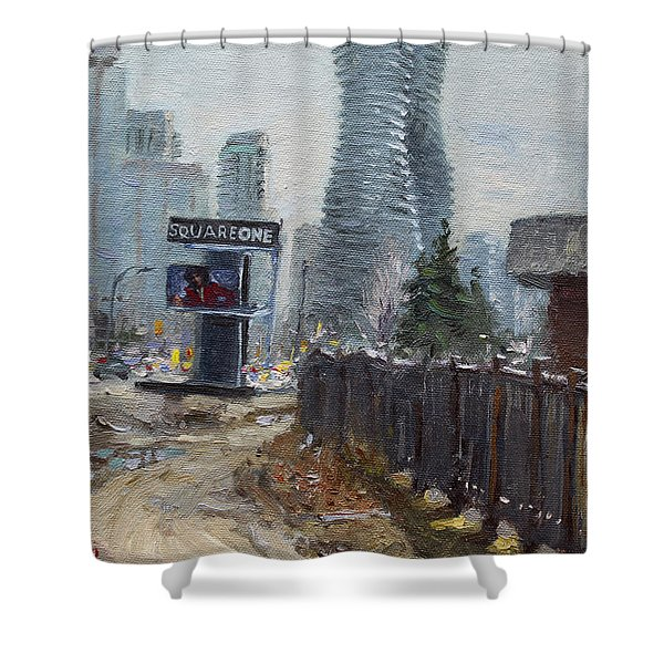 Square One Mississauga Shower Curtain