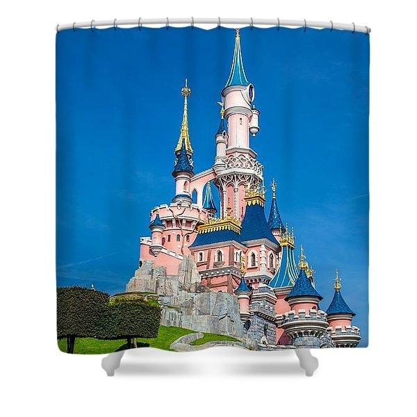 Dis Shower Curtain