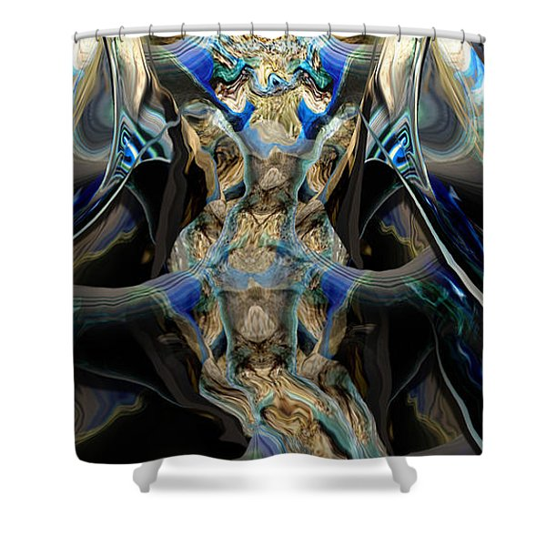 Discourse Of Course Shower Curtain