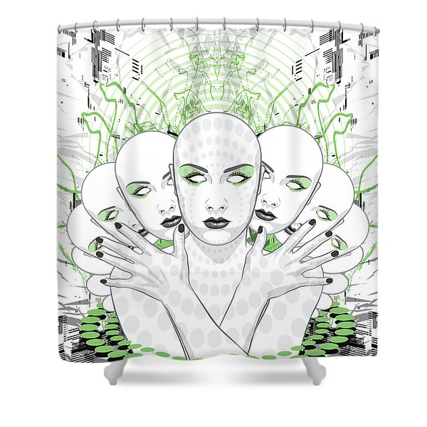 Disguise Shower Curtain