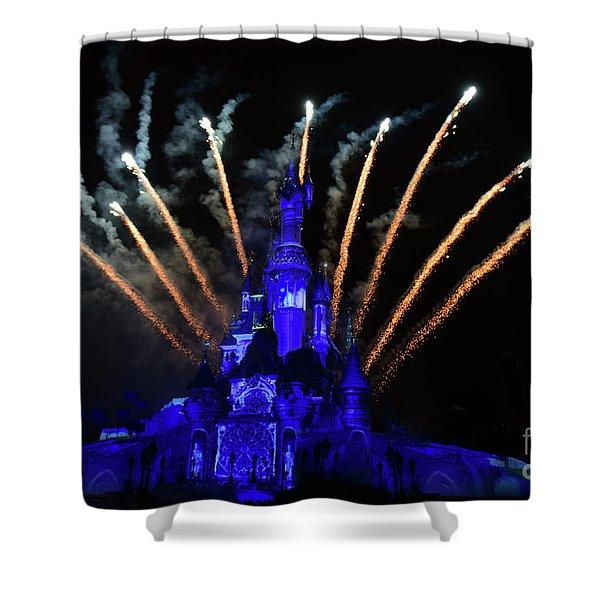 Disney Dreams Shower Curtain