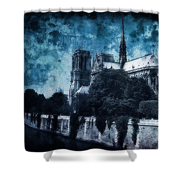 Dissipating Rapture Shower Curtain