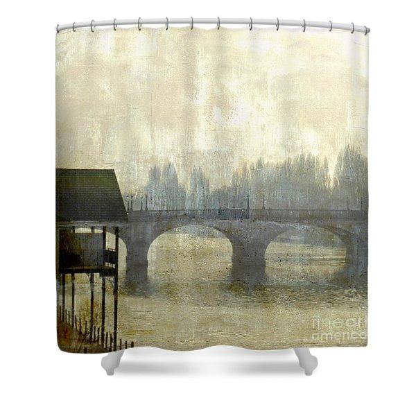 Dissolving Mist Shower Curtain