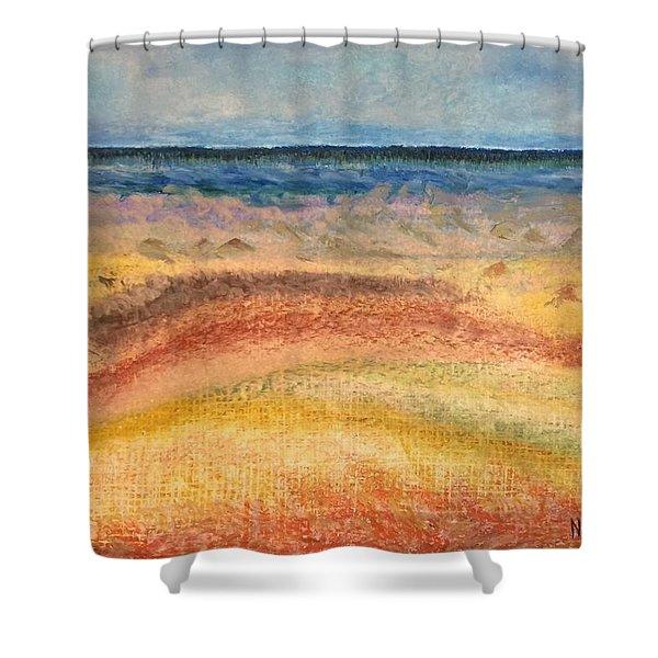 Distance Shower Curtain