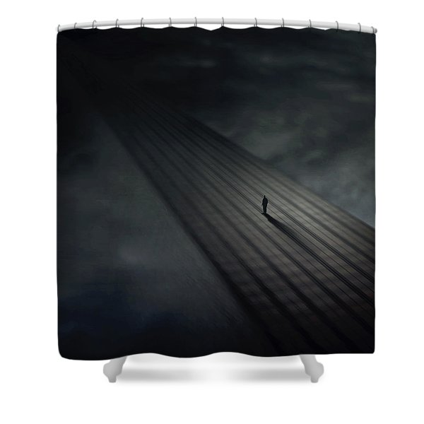 Distance Shower Curtain
