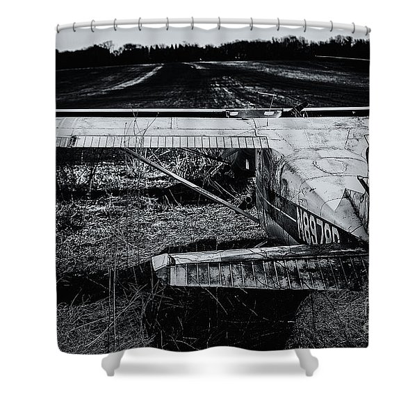Distant Horizons Shower Curtain