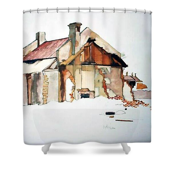 District 6 No 2 Shower Curtain