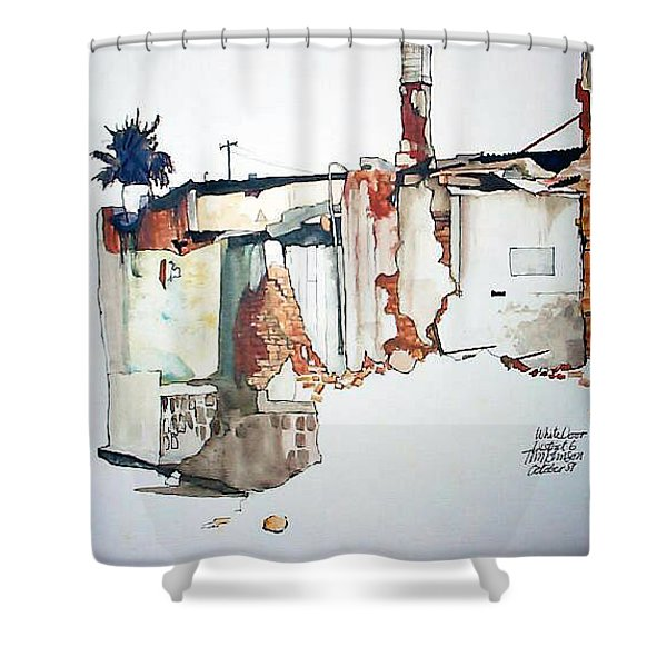 District 6 No 3 Shower Curtain