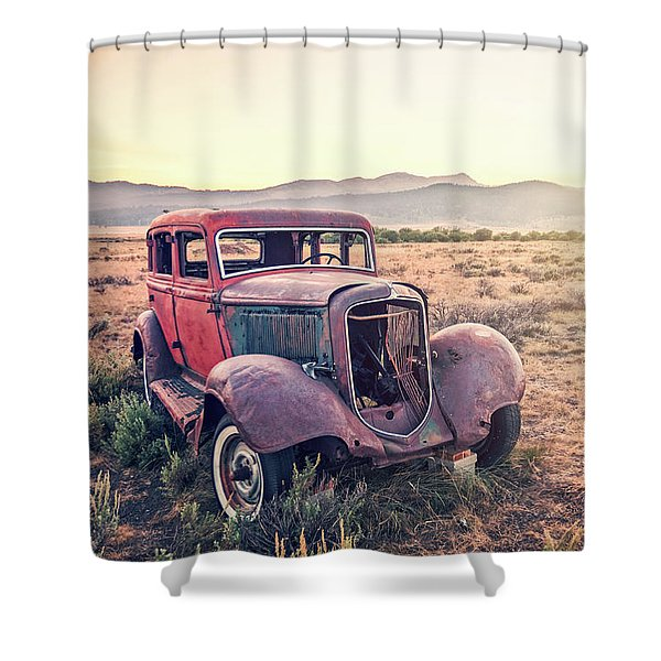Disused Shower Curtain