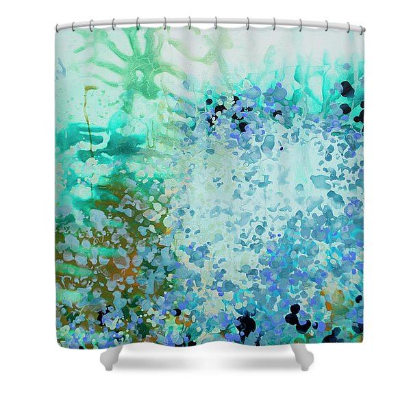 Dive In Shower Curtain
